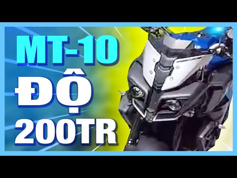 PKL - Chạy thử Yamaha MT-10 độ gần 200 triệu tiền đồ chơi (Yamaha MT-10 test riding in Vietnam) - Thời lượng: 16:44.