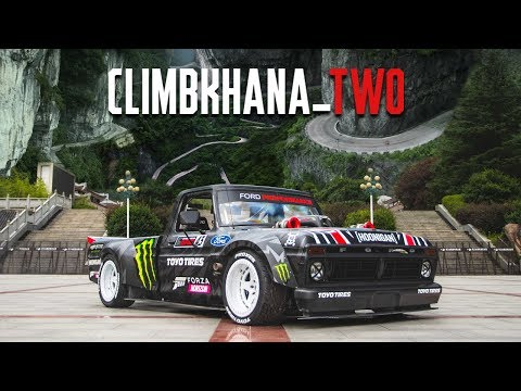 Ken Blocks Climbkhana TWO 914hp Hoonitruck on China Most Dangerous RoadTianmen Mountain