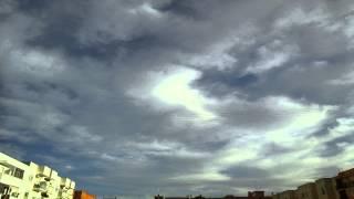 Timelapse nubes altas por Valencia, 9-3-2015