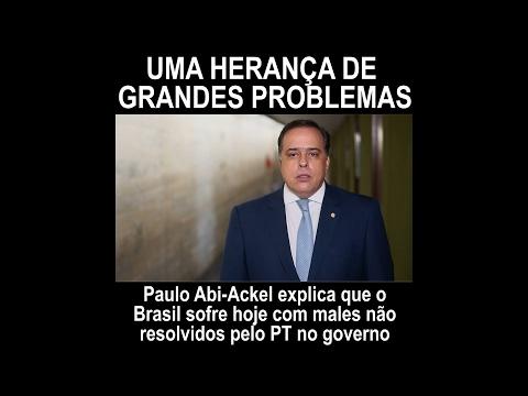 Paulo Abi Ackel: herança de problemas não resolvidos pelo PT