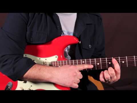 Bee Gees - Stayin\' Alive - How to Play Funky Rhythm Guitar - Guitar ...