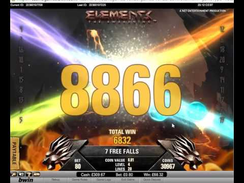 NetEnt - Elements The Awakening - Mega Win