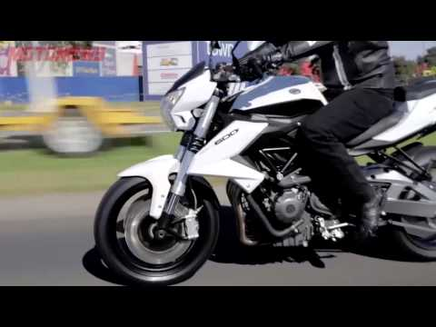 BENELLI  BN 600 - KEEWAY RK6 VIDEO PROMOCIONAL - MOTONEWS