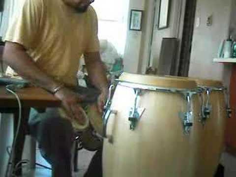 Improvisacion de Bongo y Conga