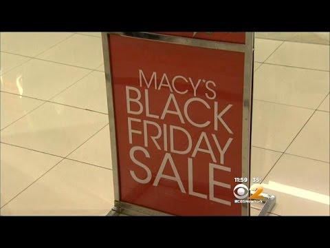Shoppers Flock To Newport Centre Mall For Black Friday Bargains