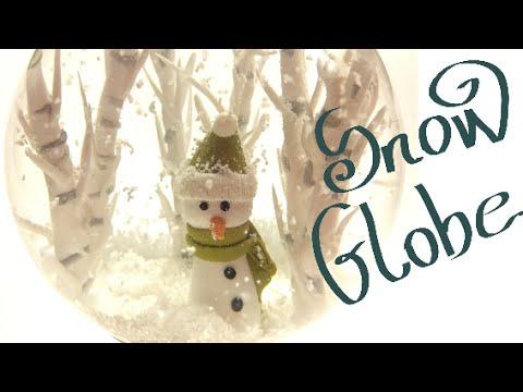 come creare un globo di neve in fimo