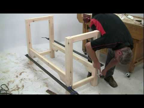 bosch - Alan Holtham shows you how to build a classic woodworking bench using just a few power and hand tools. This is the first in the 'Build it with Bosch' Project...
