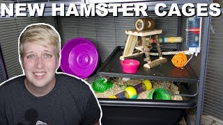 I BOUGHT NEW CAGES FOR MY HAMSTERS by Pickles12807