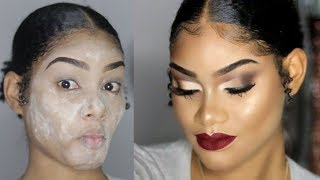 POWDER BEFORE FOUNDATION | Does It Really Work???