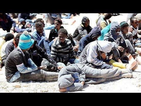 Λιβύη: Οι αρχές εντόπισαν πλοιάριο με 112 μετανάστες