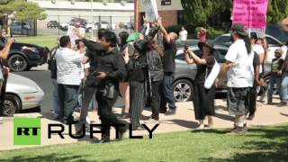 Lancaster (CA) United States  City pictures : USA: Christians confront Satanist '666' ritual in Lancaster