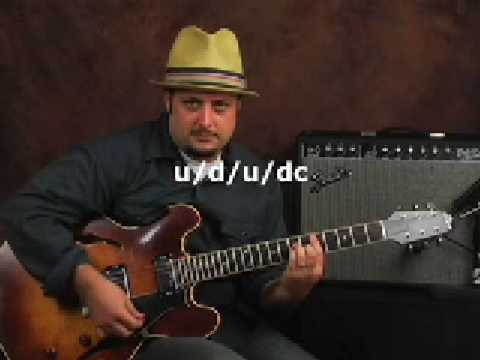 Learn Guitar Easy Strum and Rhythm chord progression lesson