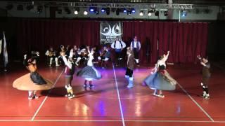 Interpretation of a folk dance that originates from Aragon, Spain. Done by Grupo Xinglar, based in Zaragoza, Aragon, Spain. Recorded in Ramirás, Galicia, ...