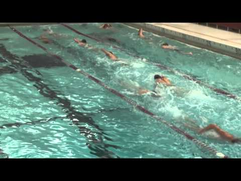 Alma College Swimming and Diving - First Practice for 2011
