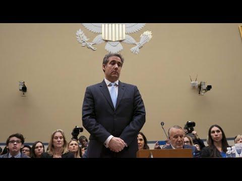 USA: Cohen erhebt schwere Vorwürfe / »Trump ist ein Ras ...