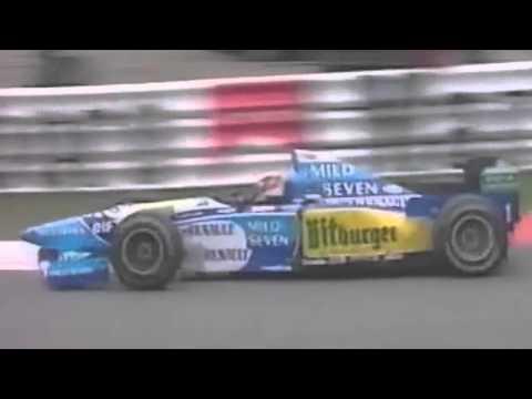 spa 1995 - michael schumacher parte 16° e vince!