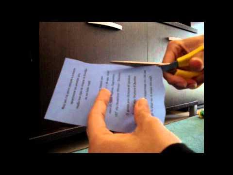Πώς φτιάχνουμε πάπυρο για προσκλητήριο - Create invitation papyrus