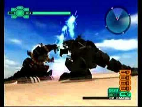 Two titans: mega saurer v.s death saurer