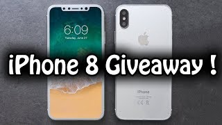 Win iphone 8 Worldwide Free Giveaway !!! Just Guess It's Price !