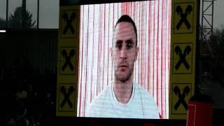 Steffen Hofmann verlängert per Videobotschaft bei Rapid