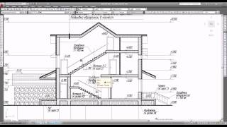 Фасады и разрезы в рабочем проекте