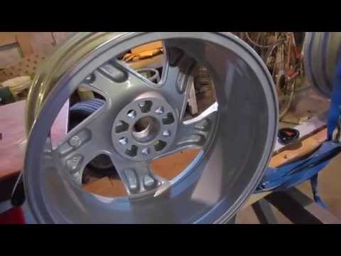Refinishing Painted Aluminum Rims