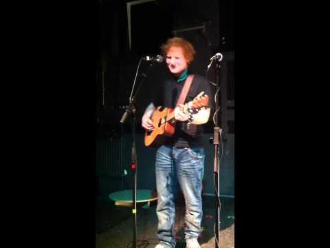 Ed Sheeran - Wake me up, Live at the Cluny 2 Newcastle