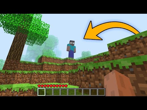 Minecraft: Herobrine Is On Pocket Edition