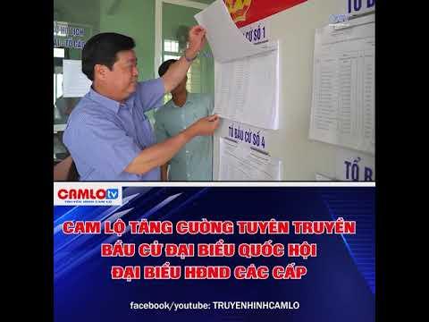 Cam Lộ tăng cường công tác tuyên truyền bầu cử