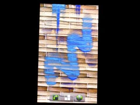 Video of Dynamic Paint Live Wallpaper