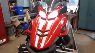 10. Yamaha RS Vector snowmobile