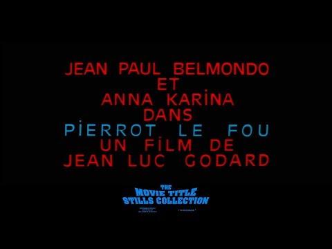 Jean-Luc Godard: Pierrot le Fou (1965) title sequence