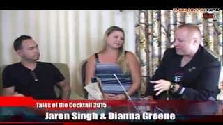Flairbar.com Show with Dianna Greene Cowan & Jaren Singh @ Tales of the Cocktail 2015!