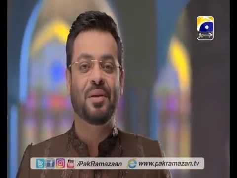 Video Pak Ramazan Geet by Dr Aamir Liaquat 2016 on Geo tv download in MP3, 3GP, MP4, WEBM, AVI, FLV January 2017