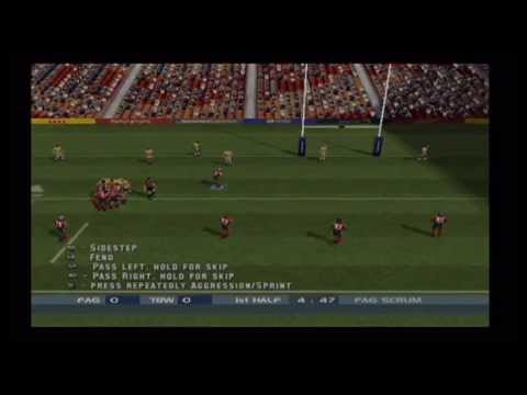 Rugby League Playstation 2