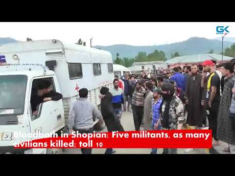 Bloodbath in Shopian: Five militants, as many civilians killed