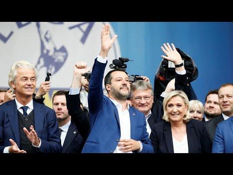 Το Κίνημα του Ματέο Σαλβίνι ξεκίνησε για τις ευρωεκλογές…