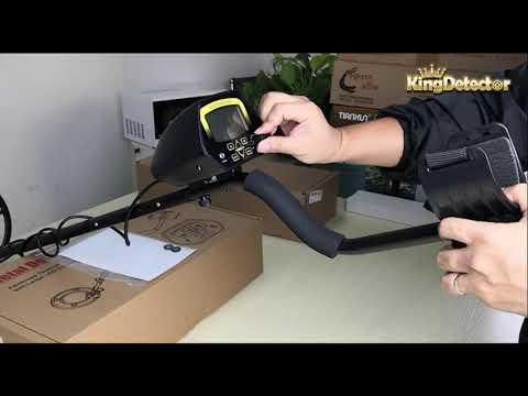 A Video for MD-3030 metal detector, Assembling, Adjusting & Air Test