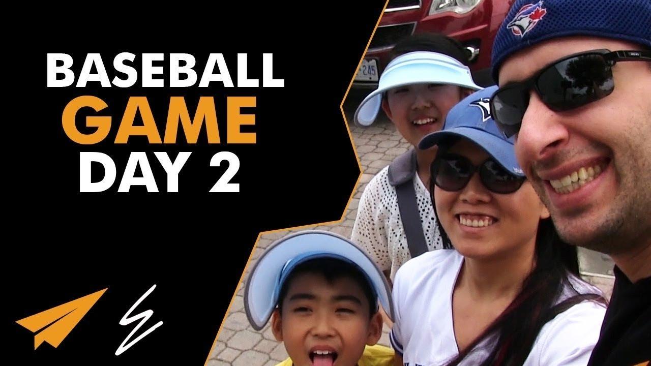 Baseball Game -  Disney Day 2 - #LifeWithEvan