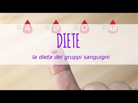 la dieta dei gruppi sanguigni: funziona davvero?