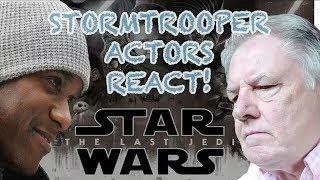 Star Wars actors react to Star Wars: The Last Jedi movie trailer