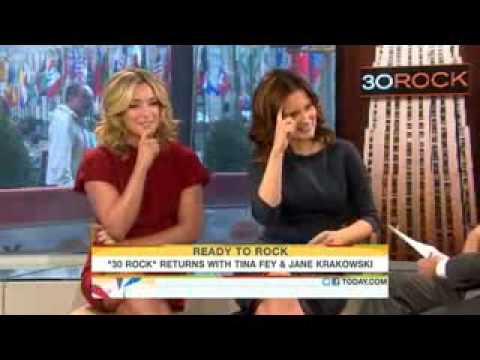 TODAY Show: Tina Fey and Jane Krakowski Discuss 30 Rock