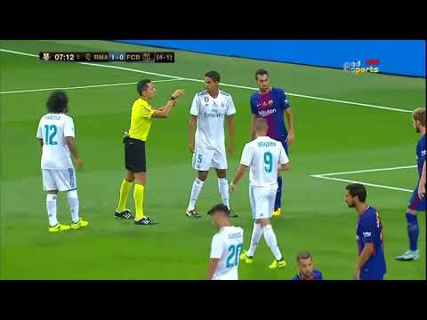 Real Madrid Vs Barcelona Full Match HD 16 08 2017ᴴᴰ