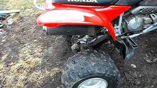 3. 2007 trx 400ex FOR SALE