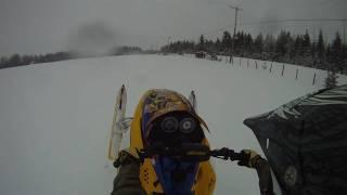 8. Ski Doo REV MXZ X-RS 800 Powder Ride 2011