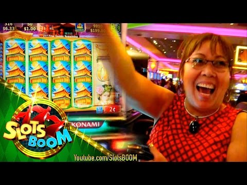 LONG PLAY 635 Free Spins - Big Win on Dynasty Riches 2c Konami Video Slot