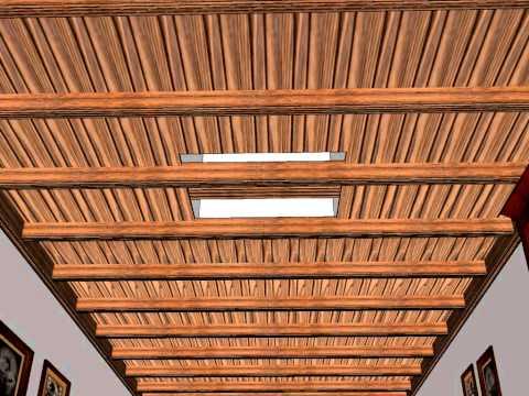 Forrar techo madera videos videos relacionados con - Carpinteria santa clara ...