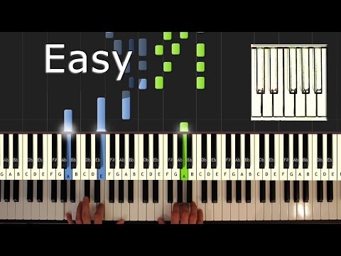 Carol of the Bells - Piano Tutorial Easy - How To Play (Synthesia) - Christmas