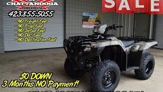 8. 2016 Honda TRX500 Foreman ES Camo ATV SALE - Discount Price - Chattanooga TN GA AL
