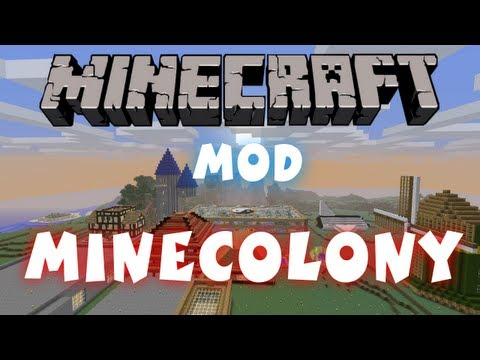 Minecraft - Mods: Minecolonies | Create Your Own Settlement!